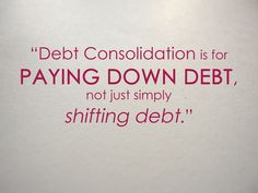#FinanceFriday TIP #2: Debt consolidation doesn't need to be daunting. Consider your pros and cons in order to make an educated decision. #ClearPathLending #ClearPath #Lending #Mortgage #Refinance #HomeLoan #VALoan #Debt #Consolidation #DebtConsolidation #Finance #Money #Saving #Spending #Credit #CreditScore