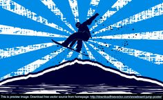 A collection of vector files, free for commercial purposes Life Images, Vector File, Snowboard, Skiing, Fair Grounds, Silhouette, Graphic Design, Vectors, Outdoor Decor