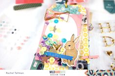 Tag Flip Happy Mail with Rachel - Wild Hare Mail Tag, Pocket Letters, Happy Mail, Mini Books, Hare, Flipping, More Fun, Paper Crafts, Pen Pals