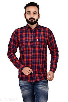 Shirts Cotton Comfy check shirt, Original Brand, Single Pocket, Full sleeves Fabric: Cotton Sleeve Length: Short Sleeves Pattern: Checked Multipack: 1 Sizes: XL (Chest Size: 46 in, Length Size: 31 in)  L (Chest Size: 44 in, Length Size: 30 in)  M (Chest Size: 41 in, Length Size: 29 in)  XXL (Chest Size: 49 in, Length Size: 32 in)  Country of Origin: India Sizes Available: M, L, XL, XXL   Catalog Rating: ★4 (451)  Catalog Name: Classic Retro Men Shirts CatalogID_2303516 C70-SC1206 Code: 004-12072393-9911