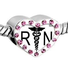 Pugster Pink Swarovski Crystal White wings logo photo photo Heart Silver Plated Beads Fits Pandora Charm Chamilia Biagi Bracelet Pugster. $16.49. Bracelet sold separately. Unthreaded European story bracelet design. Hole size is approximately 4.8 to 5mm. It's the photo on the heart charm. Fit Pandora, Biagi, and Chamilia Charm Bead Bracelets