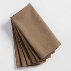Taupe Buffet Napkins