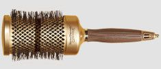 Olivia Garden ceramic brushes that include a sectioning pick to assist you with thermal styling.   30 Amazing Products Hairstylists Actually Swear By