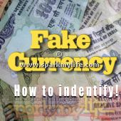 How to identify fake Indian currency note.  http://www.sparkmylife.com/how-to-identify-fake-indian-currency-note.html