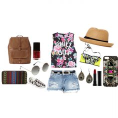Check out this awesome outfit for a festival day. Join us at www.wishi.me and find inspiration for your upcoming events. Join the fashionable Wishi community...
