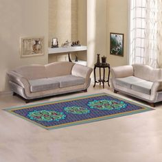 Love Nature Sweet Home Modern Collection Custom Colorful Vintage Seamless Pattern Floral Mandala Area Rug Indoor Soft Carpet Runners Rugs for Hallways Floor Rugs, Rugs On Carpet, Modern Carpet, Living Room Carpet, New Living Room, Trendy Living Rooms, Rugs, Living Room Area Rugs, Rugs In Living Room