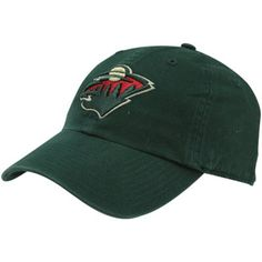 Mens Minnesota Wild  Green Classic Franchise Fitted Hat