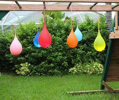 water balloon piñatas #celebrateeveryday