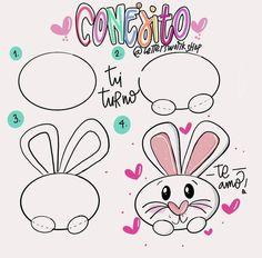 Art Drawings Sketches Simple, Easy Drawings, Just Add Magic, Custom Funko Pop, Drawing Frames, Bear Wallpaper, Baby Cartoon, Cute Illustration, Scrapbook