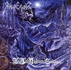 EMPEROR - capa do CD In The Night Side Eclipse.