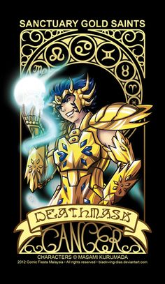 Saint Seiya - Cancer by blackwing-dias.deviantart.com on @deviantART