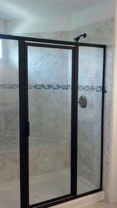 Landon Model Master Bath Roman Shower Layout Ryan Homes In 2019 Ryan Homes