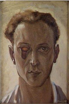 Victor Brauner Autoportrait, 1931. Paris, Centre Pompidou by renzodionigi, via Flickr