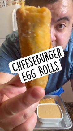 Egg Roll Recipes, Fun Baking Recipes, Cooking Recipes, Yummy Appetizers, Appetizer Recipes, Dinner Recipes, Beef Dishes, Food Dishes, Air Fryer Recipes Easy