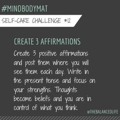 Put it out in the universe, amazing things can happen! #mindbodymat @robinlong