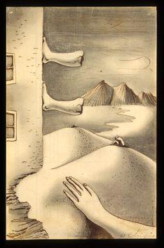"""Cruzeiro Seixas, """"La variété en dehors d'elle même"""", 1947 Sculptures, Paintings, Abstract, Memes, Drawings, Beautiful, Painting Art, Doors, Dibujo"""