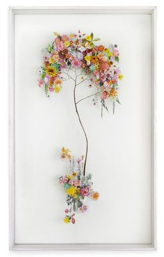 Flower Constructions by Ann Ten Donkelaar