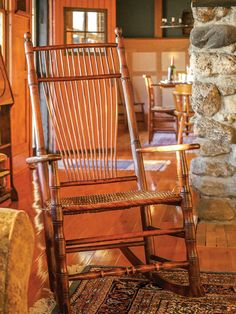 Snapshots of Island Life - Old-House Online Summer Cabins, House Journal, Beach Cottages, Island Life, Rocking Chair, Vermont, Furniture, Home Decor, Chair Swing