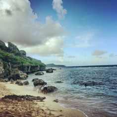 Tagachang Beach in Yona, Guam.  My parents live in Yona, and someday we'll get over there.