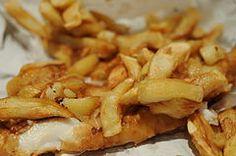 Ryba i frytki to coś co Anglicy lubią najbardziej.
