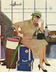 American Airlines, 1953. I see not much has changed!