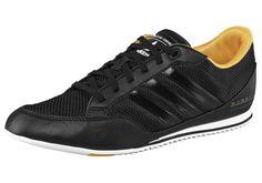 Größenhinweis , Fällt klein aus, bitte eine Größe größer bestellen., |Produkttyp , Sneaker, |Form/Schnitt , Schmale Form, |Schuhhöhe , Niedrig (low), |Farbe , Schwarz-Gelb, |Herstellerfarbbezeichnung , black 1, |Obermaterial , Materialmix aus Synthetik und Textil, |Verschlussart , Schnürung, |Laufsohle , Gummi, | ...