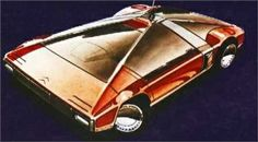 Citroen Karin, 1980 - Design Sketch