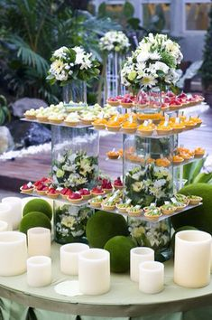 Catering - table decorating ideas