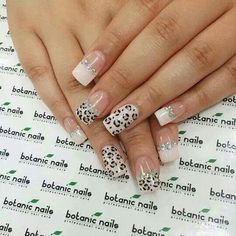 If and when I have the time, my next polish change will be this :) Fancy Nails, Pretty Nails, Botanic Nails, Uñas Fashion, Lady Fingers, Face Hair, Toe Nails, Beauty Nails, How To Do Nails