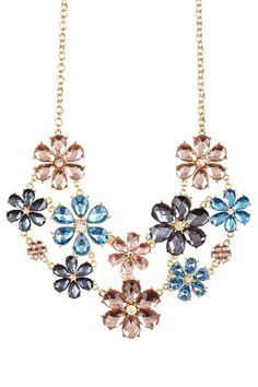 Field of Flowers Necklace by Olivia Welles on @HauteLook
