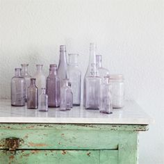 Soothing & calm mint & lavender inspiration