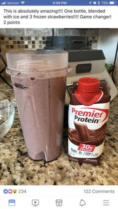 Protein shake recipes 458452437068093956 - Weight Watchers Smoothies Protein Shakes Low Carb New Ideas Source by Low Carb Protein Shakes, Strawberry Protein Shakes, Premier Protein Shakes, Protein Shake Recipes, Chocolate Protein Shakes, Keto Shakes, Healthy Shakes, Breakfast Protein Shakes, Atkins Protein Shake