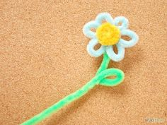 Make Pipe Cleaner Flowers - wikiHow