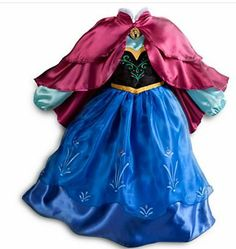 Disney Frozen Disfracez De Anna Y Elsa Disney Store - $ 1,290.00