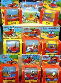 la Polistil (in origine chiamata Politoys) è stata una azienda produttrice di giocattoli ha iniziato la propria attività nel 1960 a opera dei Sigg. Agrati e Sala, con il nome Politoys  APS, producendo modelli di automobili di plastica in scala 1:41.
