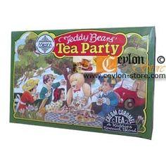 Teddy Bear's Tea Party Cream Caramel Tea Bags 100pk Mlesna