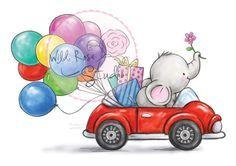 ❤️Wild Rose Studio ~ Bella in Car