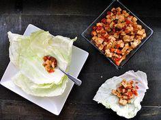 Tofu Cabbage Cups.