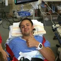 Massa Canadian GP 2014.  So glad you're ok, Massa!