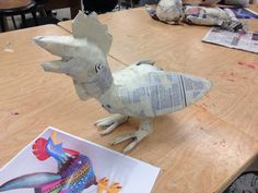 Creative Crafts magazine form for paper mache Oaxacan inspired animals