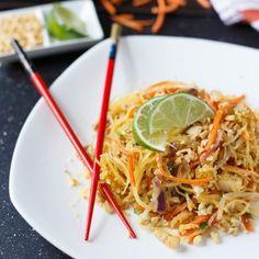 Spaghetti Squash Pad Thai