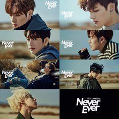 Got7, Never Ever teaser images 1.