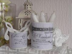 Dosen Dekoration Vase Vintage von Plan B auf DaWanda.com