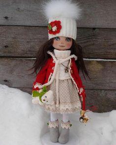 куклы из трикотажа Юлии Ильиной