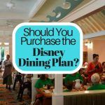 Should You Purchase a Disney Dining Plan?