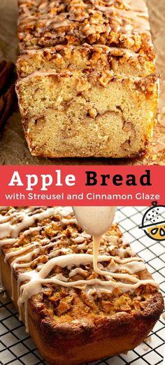 Savory Bread Recipe, Yeast Bread Recipes, Quick Bread Recipes, Baking Recipes, Apple Desserts, Fall Desserts, Apple Recipes, Delicious Desserts, Best Thanksgiving Recipes