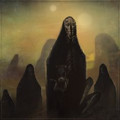 Dark Fantasy, Fantasy Art, Character Concept, Concept Art, Demon Aesthetic, The Warlocks, Metal Albums, Creepy Art, Weird And Wonderful