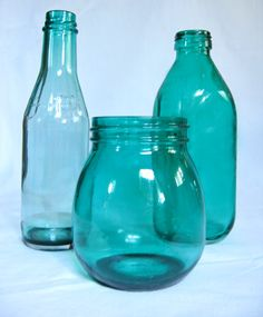 Empty glass bottle/s (make sure it's clean and free from grease/oil)    2. Vitrail glass paint (P99 in National Bookstore; available in several colors)    3. Acetone or nail polish remover (used as a thinner for the paint)