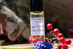 Under Eye Serum/ Vegan Eye Serum Roll On/ Natural by BearsBeauty