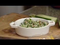 Chef Michelle Bernstein prepares an vegan-friendly cauliflower salad. Cauliflower Salad, Vegan Friendly, South Florida, Salads, Recipies, Season 12, Meals, Check, Food